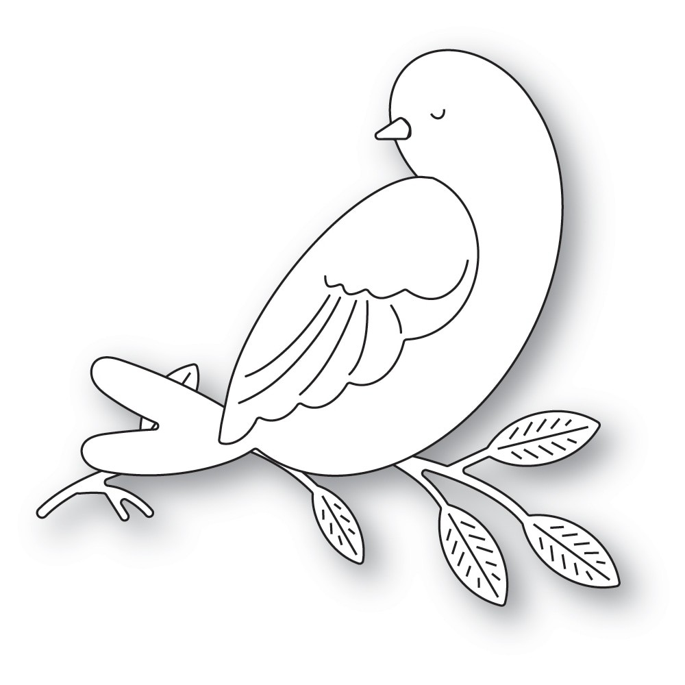 Memory Box Serene Bird and Branch 94620