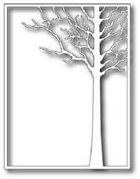 sale - Memory Box Forest Tree Frame 99413