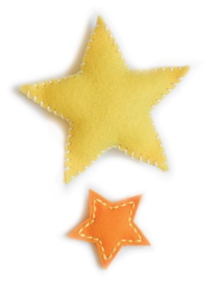 Plush Puffy Stars (99519) SALE