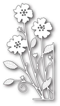SALE - Memory Box Large Antilles Floral Right Corner Die (99690)