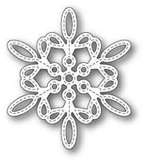 sale - Memory Box Purslane Snowflake Outline 99786