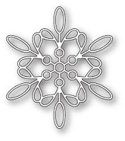 sale - Memory box Purslane Snowflake 99796