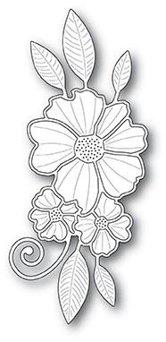 Floral Cluster Die 99901