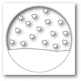 Stitched Circle Heartscape die 99930