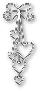 Ribbon Hearts Die 99931