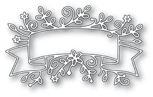 Memory Box Cobble Floral Banner die 99984