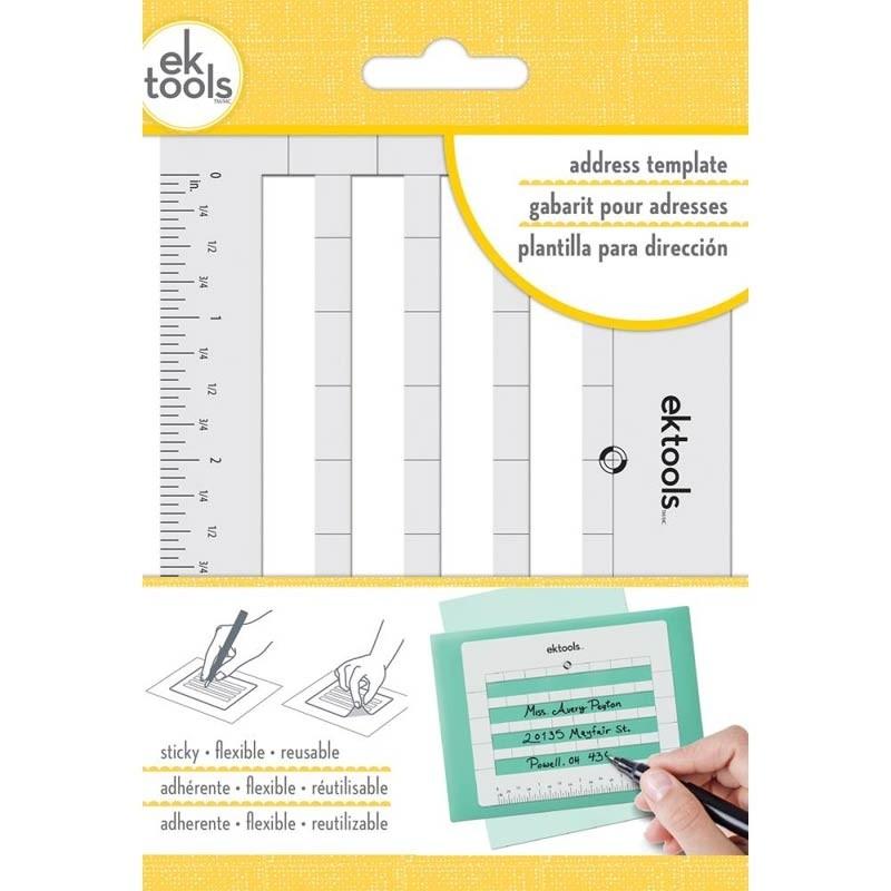 EK Tools Sticky Envelope Address Template