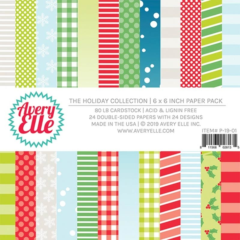 Avery Elle Holiday Collection 6x6