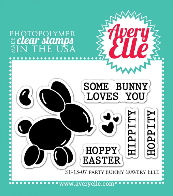 avery elle some bunny loves you clear stamps