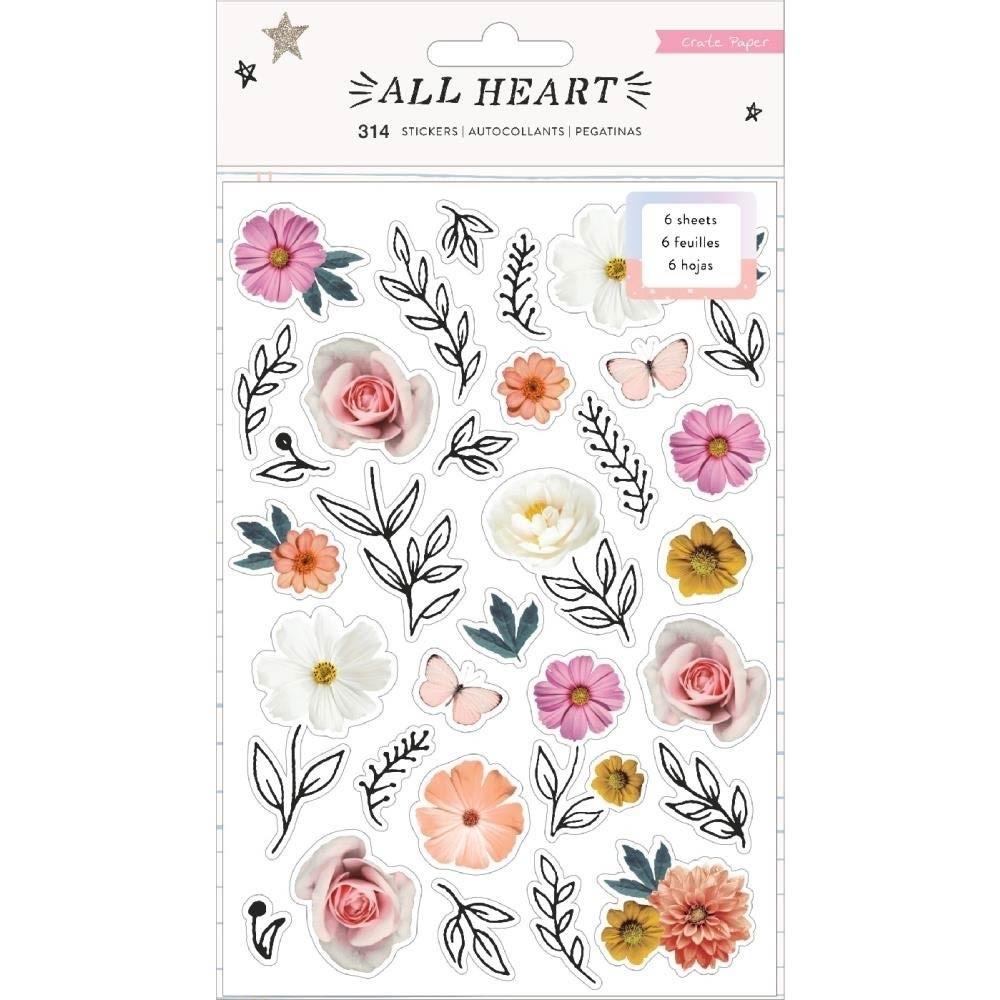 Crate Paper ALL HEART Sticker Book