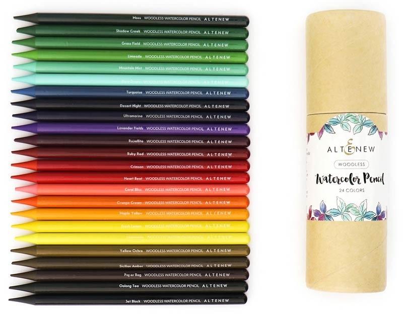 Altenew Woodless Watercolor Pencil Set 24 set