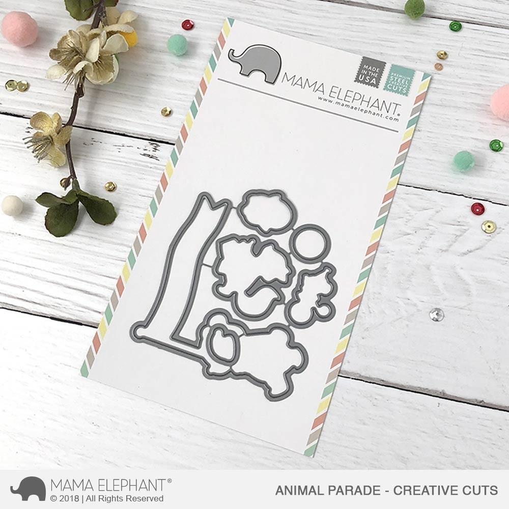 Mama Elephant Animal Parade - Creative Cuts