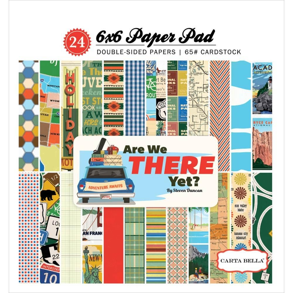 Carta Bella Are We There Yet Paper Pack