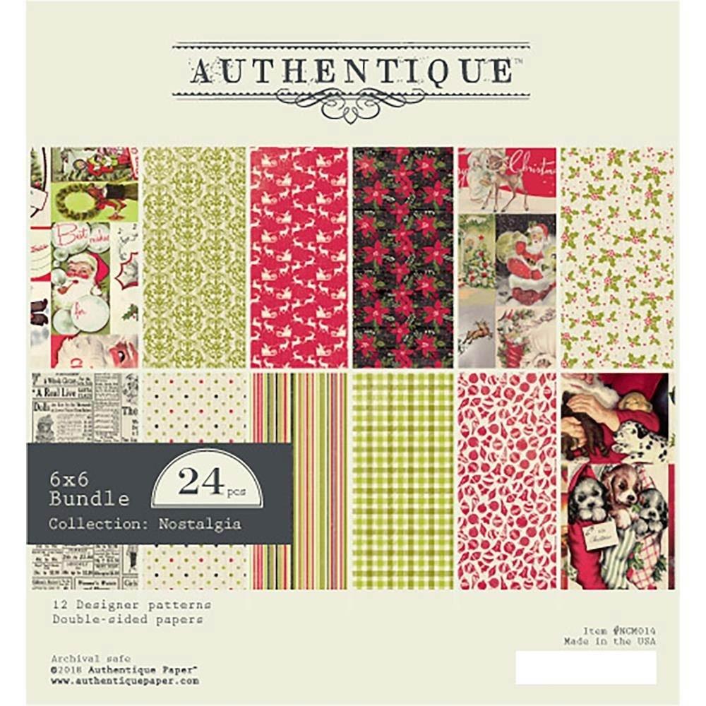 Authentique Nostalgia 6x6 Paper Pack