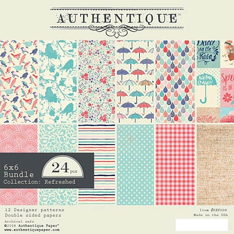 Authentique Refreshed Paper Pack