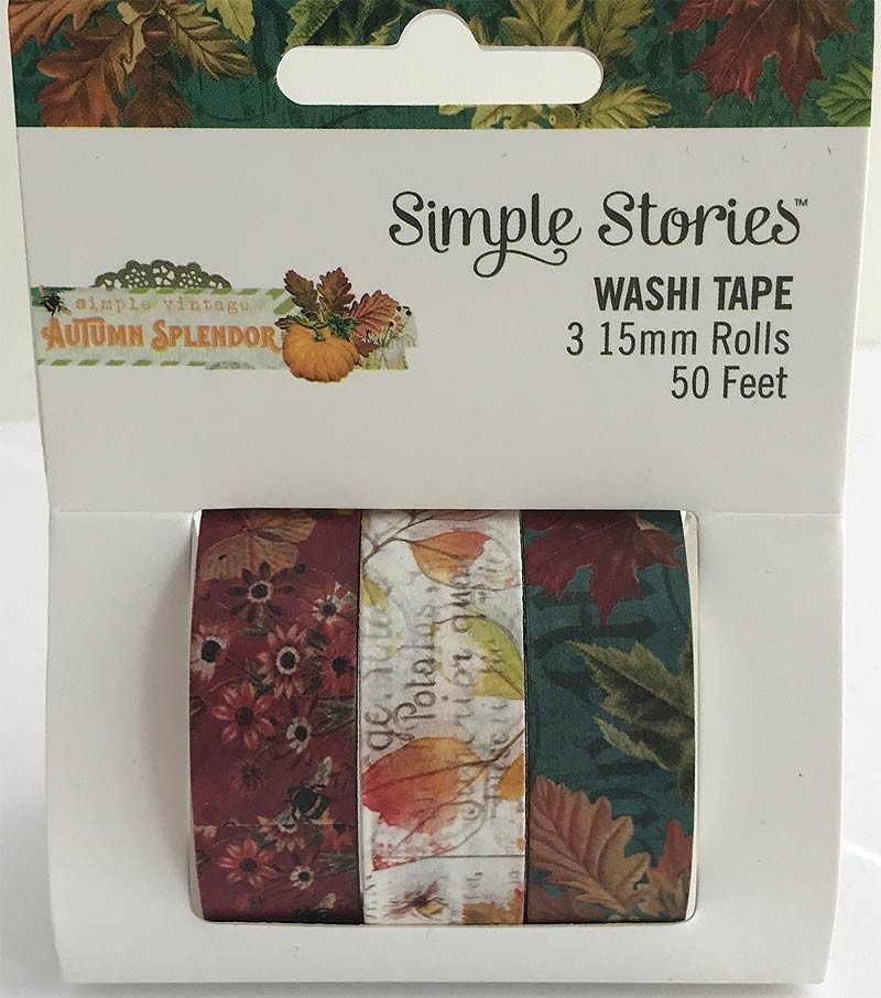 Autumn Splender Washi Tape Set
