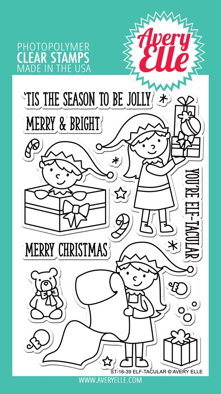 Avery Elle Efl-tacular Clear Stamp Set
