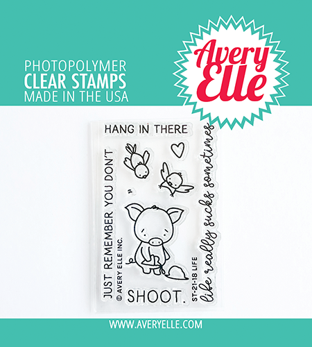 Avery Elle Life Clear Stamps ST2118