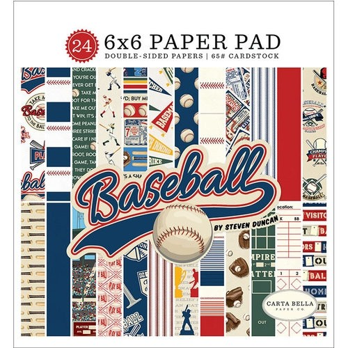 Carta Bella Baseball Paper Pad