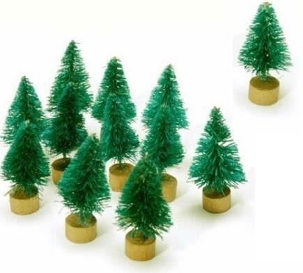 Mini Bottle Brush Trees