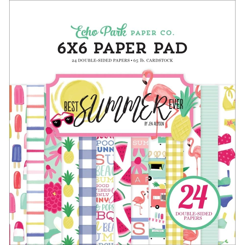 Echo Park Best Summer Ever Paper Pack
