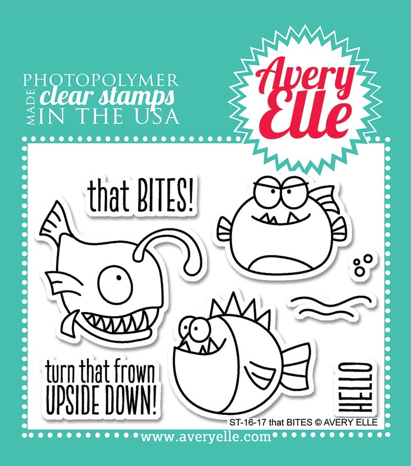 Avery Elle That Bites Clear Stamps