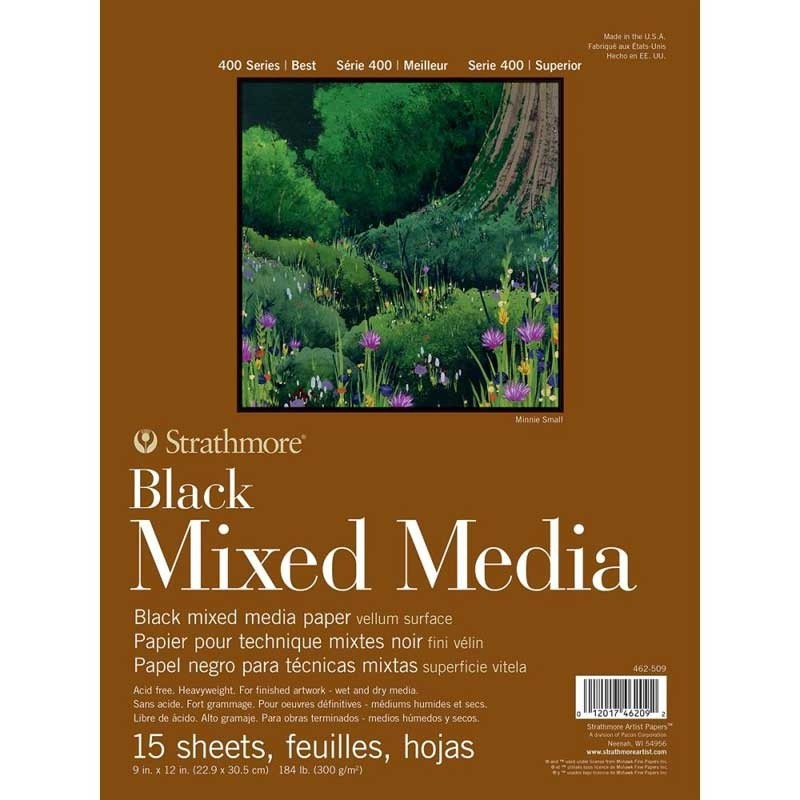 Strathmore Black Mixed Media