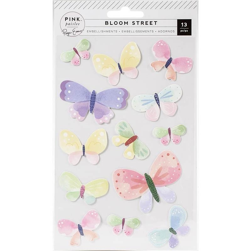 Bloom Street Dimensional Butterflies