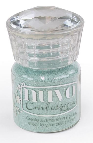 Nuvo Serenity Blue EMBOSSING POWDER