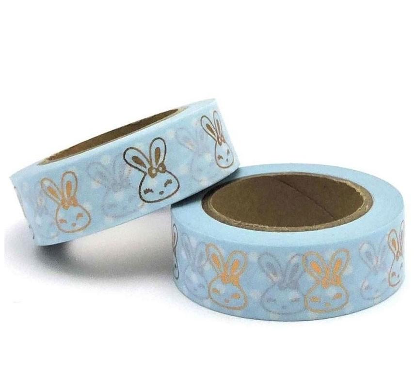 Blue Bunny Washi Tape