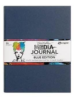 Dina Wakley Media Journal Blue Edition