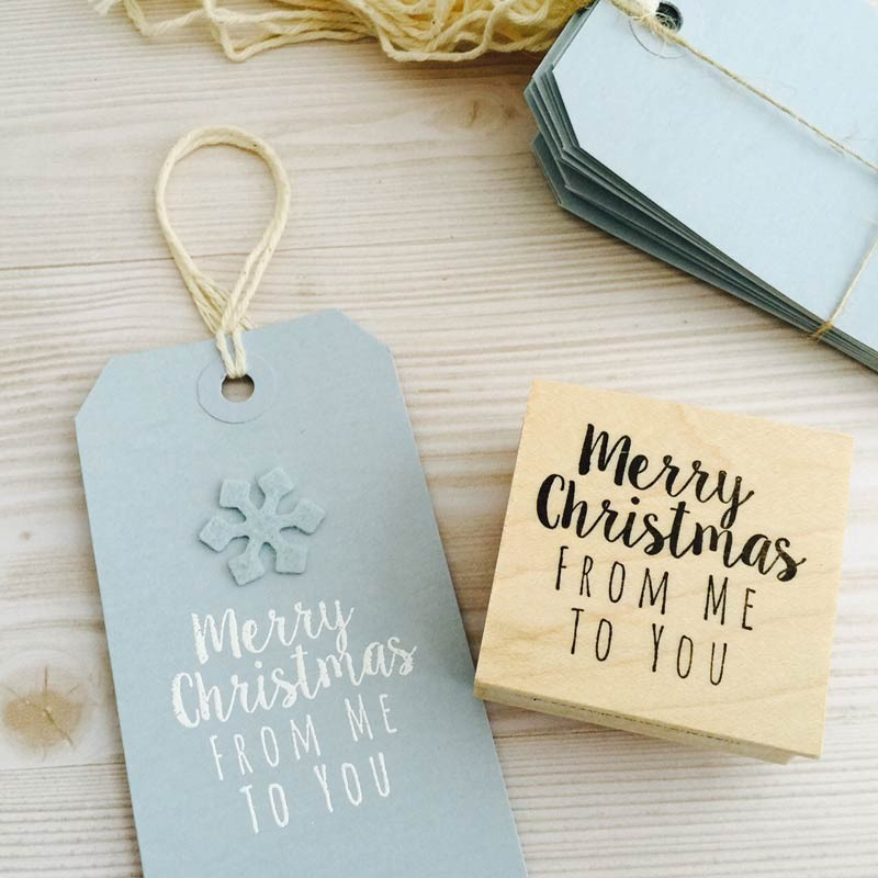 Light Blue Tags with strings