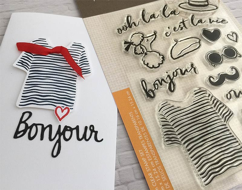 Hero Arts Clear Stamps, Ooh La La