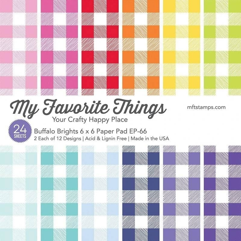 My Favorite Things Buffalo Brights Paper Pad