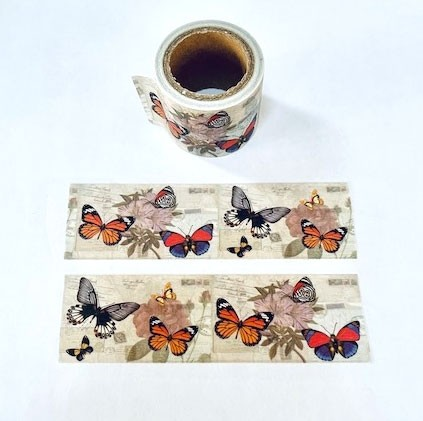 Wide Butterfly Washi Tape
