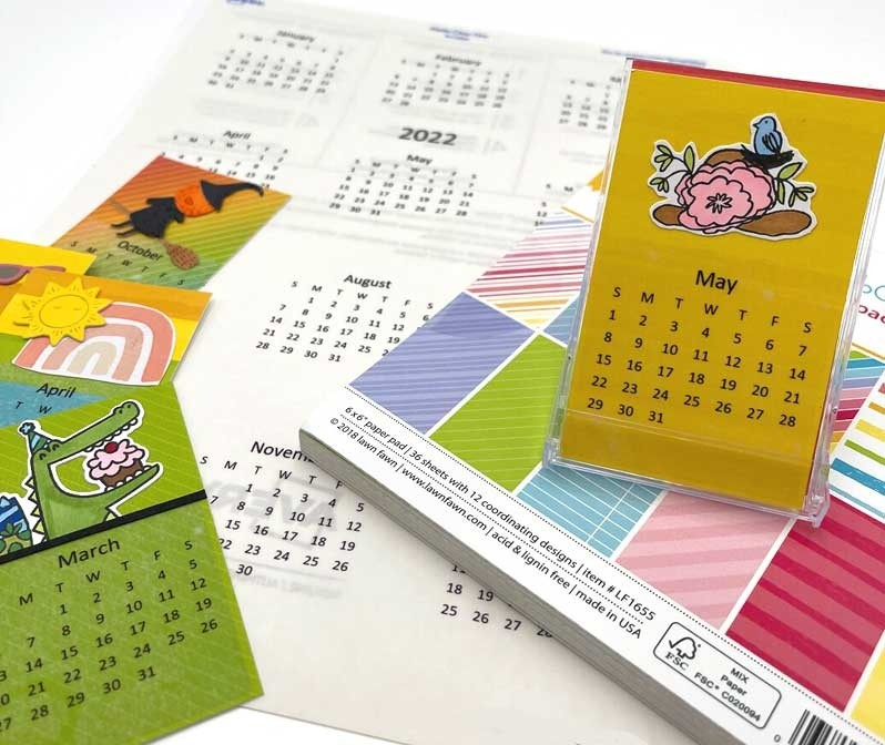 2022 Calendar Stickers