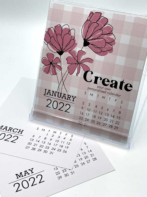 Impress Large 2022 DIY Calendar