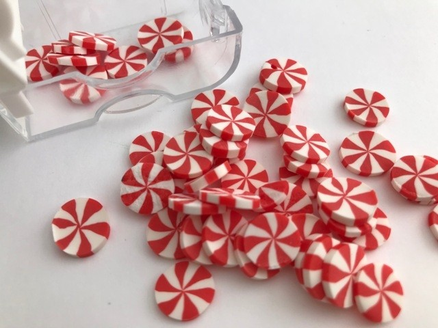 Peppermint Candy Embellishments