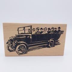 a car full rubberstamp
