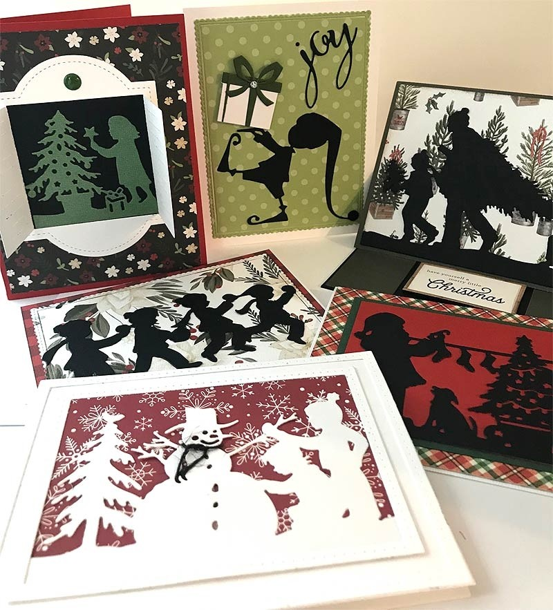 Winter Memories in Silhouette Class Kit