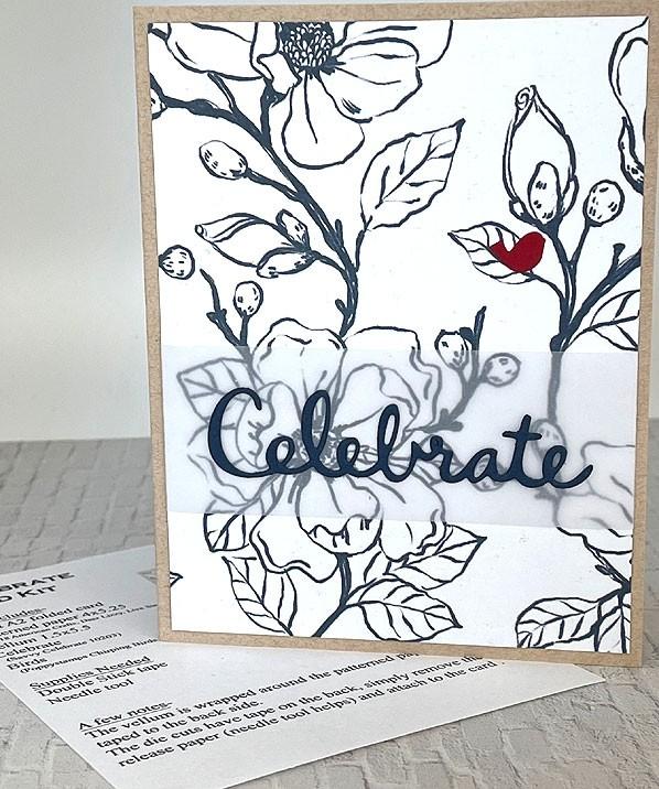 Single Card Kit - Celebrate