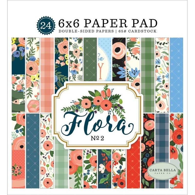 Carta Bella Flora No 2 6x6 inch Paper Pack