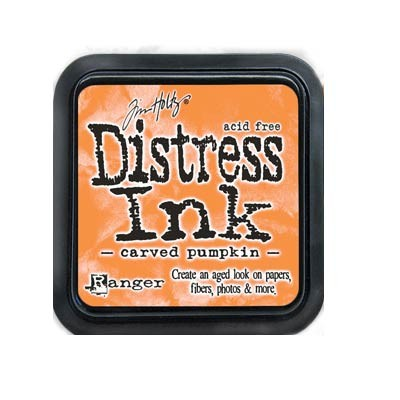 Carved Pumpkin Distress Ink