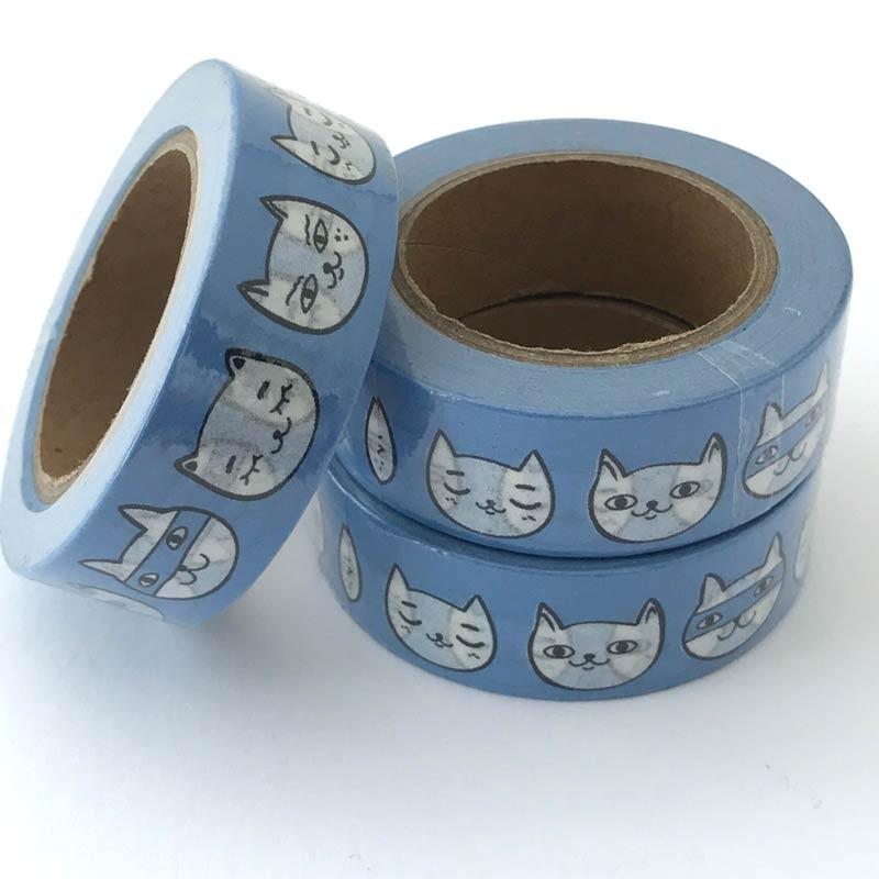 Cat Face Washi Tape