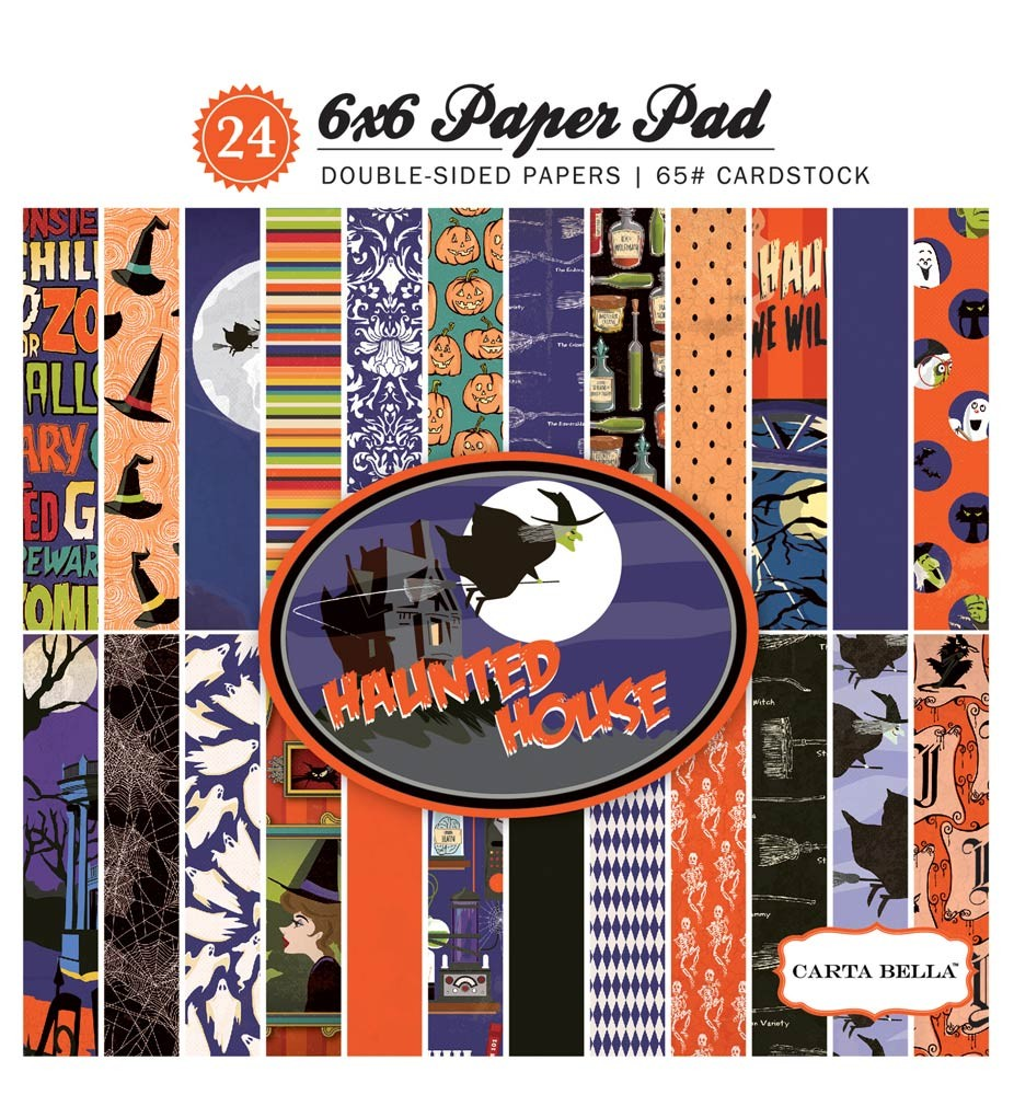 Carta Bella Haunted House 6x6 Paper Pad