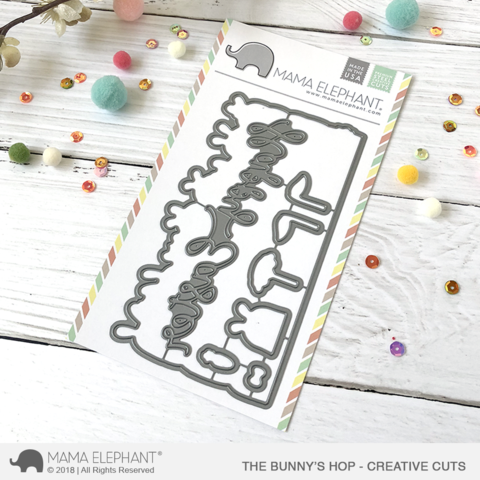 Mama Elephant The Bunny's Hop - Creative Cuts