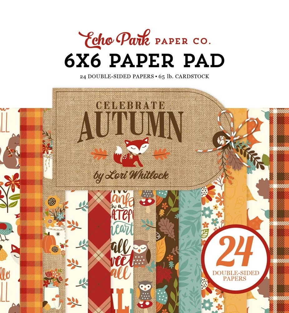 Echo Park Celebrate Autumn Paper Pack