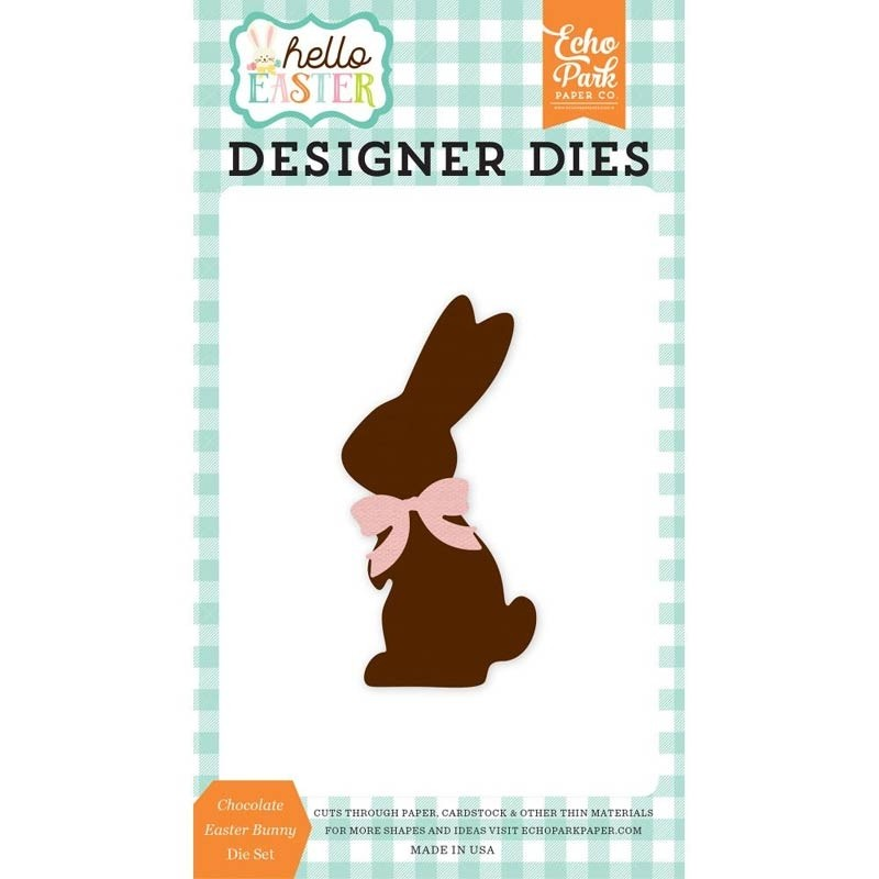 Echo Park Chocolate Bunny Die