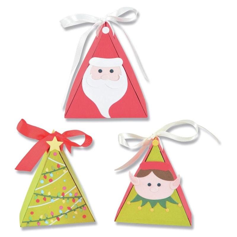 Sizzix Thinlits Christmas Character Box Dies
