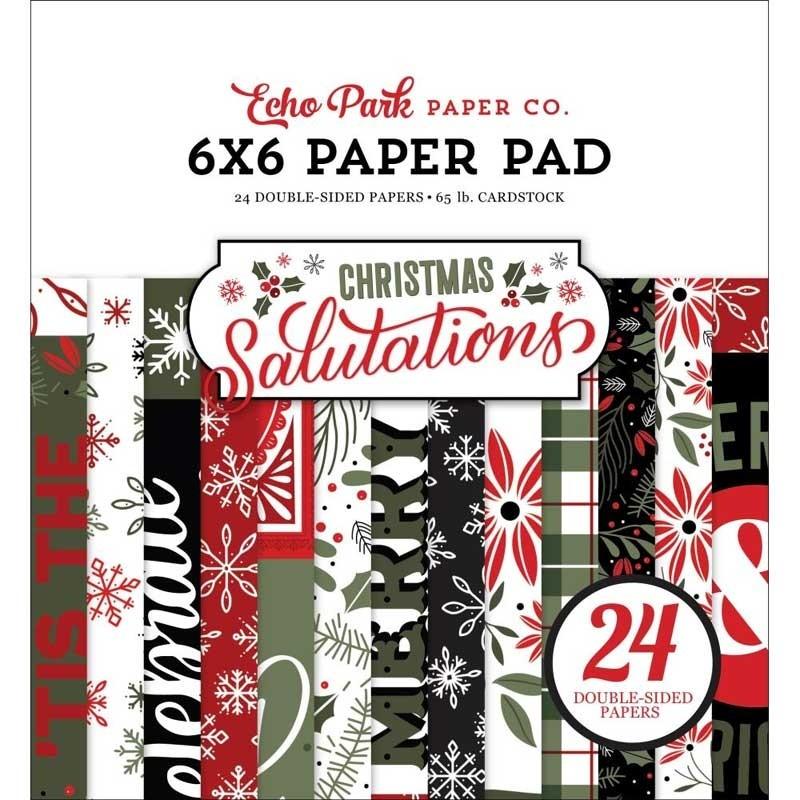 Echo Park Christmas Salutations 6x6 Paper Pack